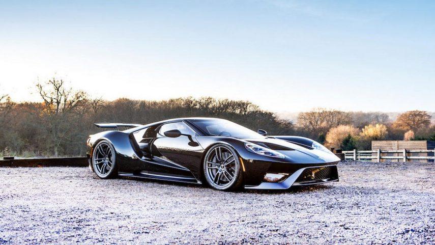 Este Ford GT de 2018 será el primero en ser subastado en Europa