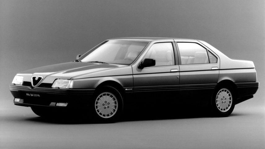 Coche del día: Alfa Romeo 164 3.0 V6