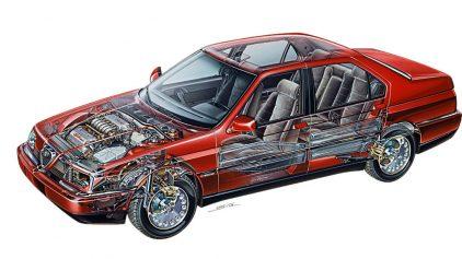 Alfa Romeo 164 30 V6 6