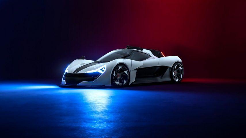 Apex AP-0 Concept: definiendo las claves del futuro deportivo eléctrico
