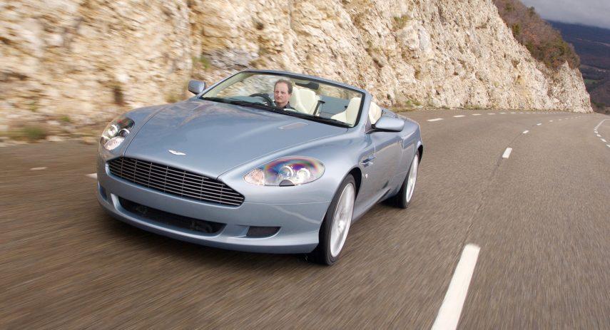 Aston Martin DB9 Volante 2004 1