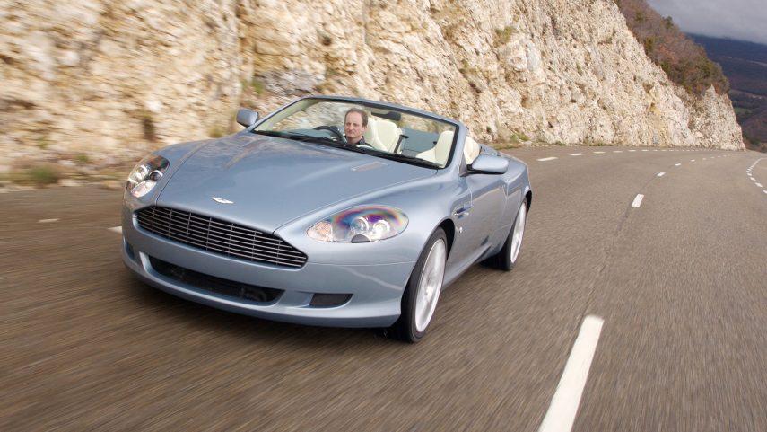 Coche del día: Aston Martin DB9 Volante