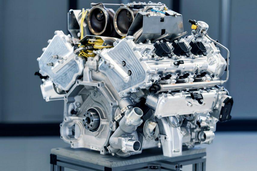 Aston Martin ya tiene en desarrollo su V6 híbrido biturbo, el TM01