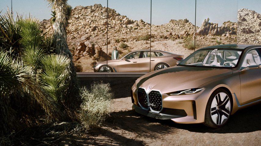 BMW Concept i4, la primera berlina eléctrica de la firma alemana