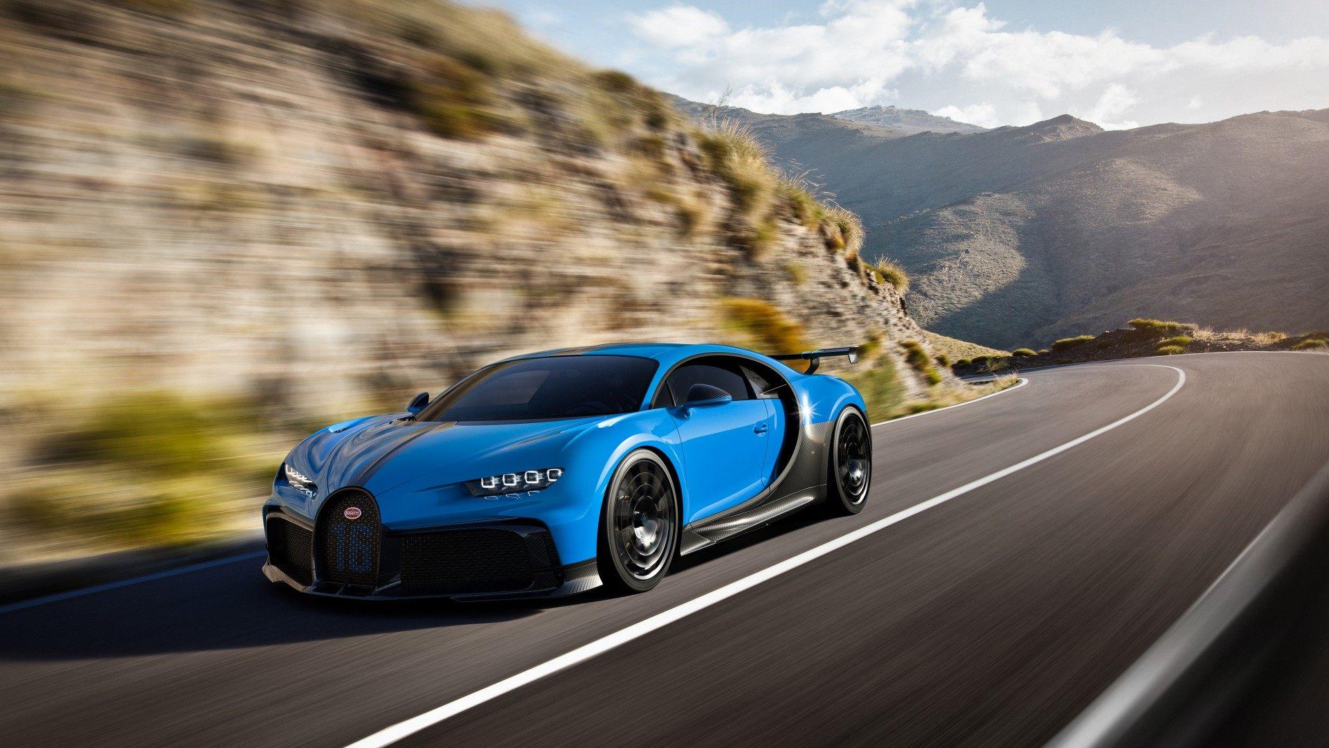 El Bugatti Chiron Pur Sport es el que quiere emocionar a sus conductores