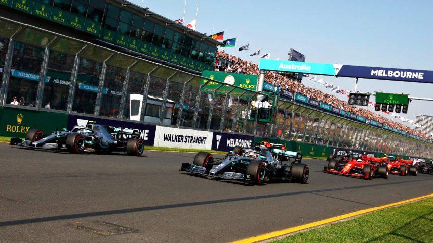 F1 Melbourne 2019