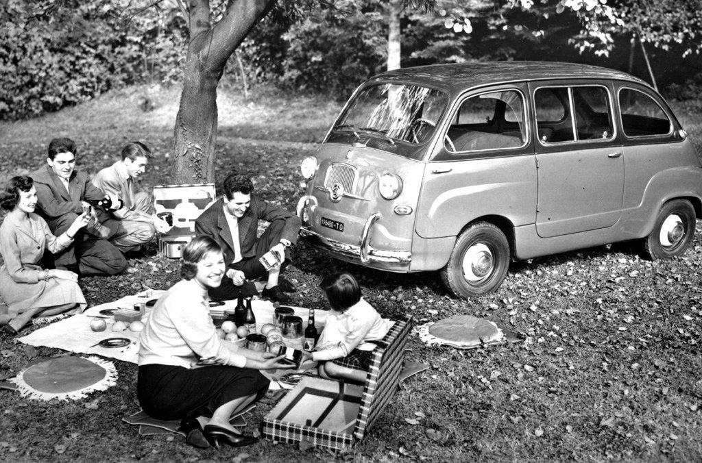 Coche del día: Fiat 600 Multipla