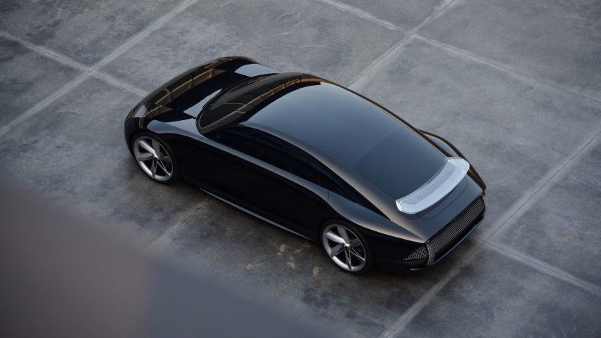 Hyundai Prophecy, una bonita berlina eléctrica que no podrás conducir