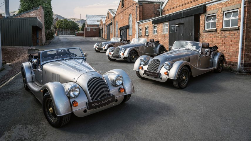 El Morgan Plus 4 70th Anniversary Edition recibe el pistoletazo de salida