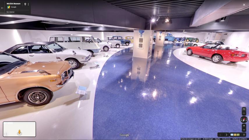Hoy visitamos el museo virtual de Mazda