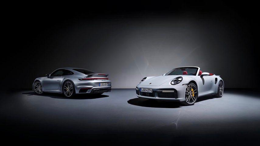 Porsche 911 Turbo S y 911 Turbo S Cabriolet (992)