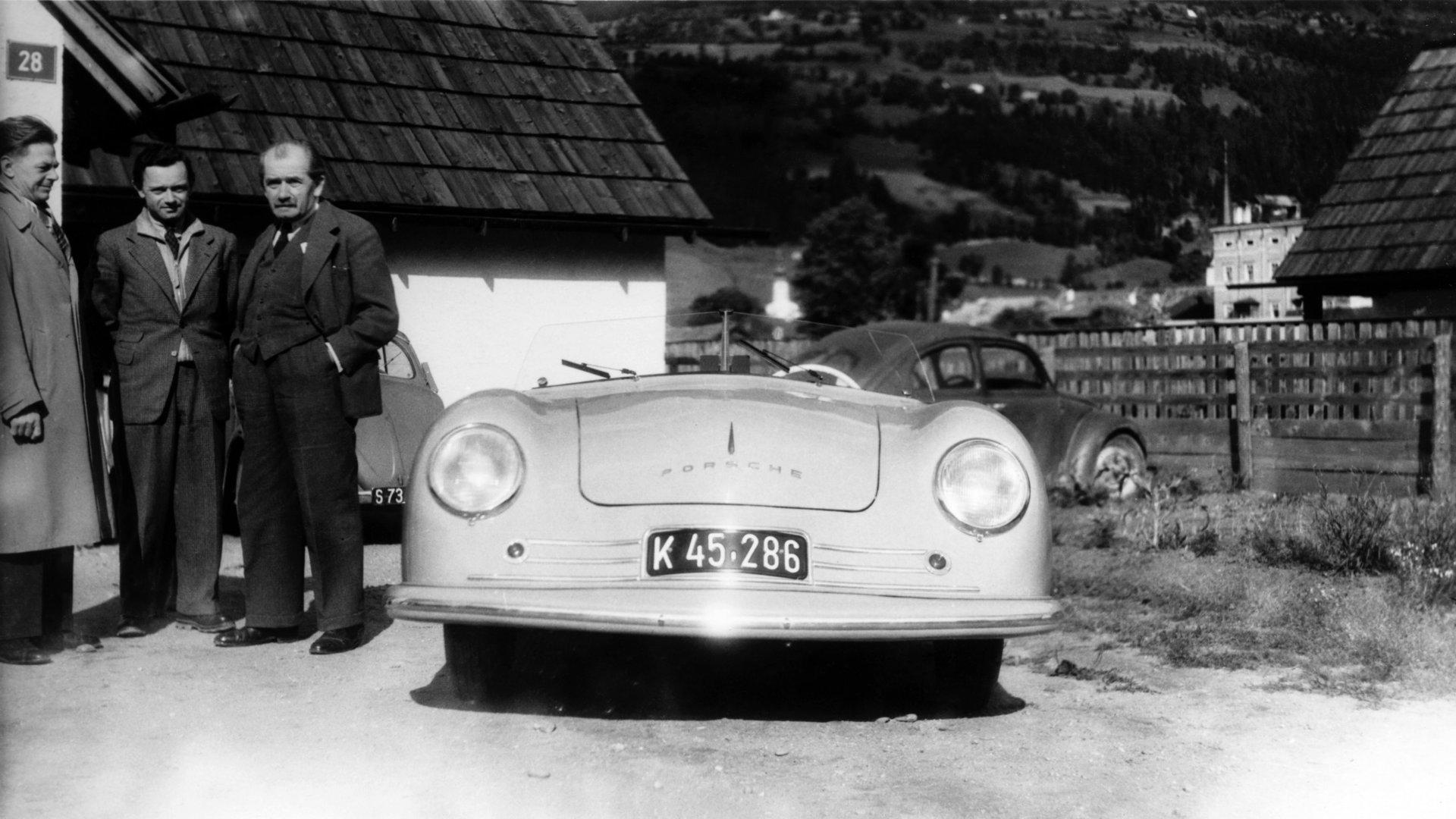 Porsche 356 Roadster No 1