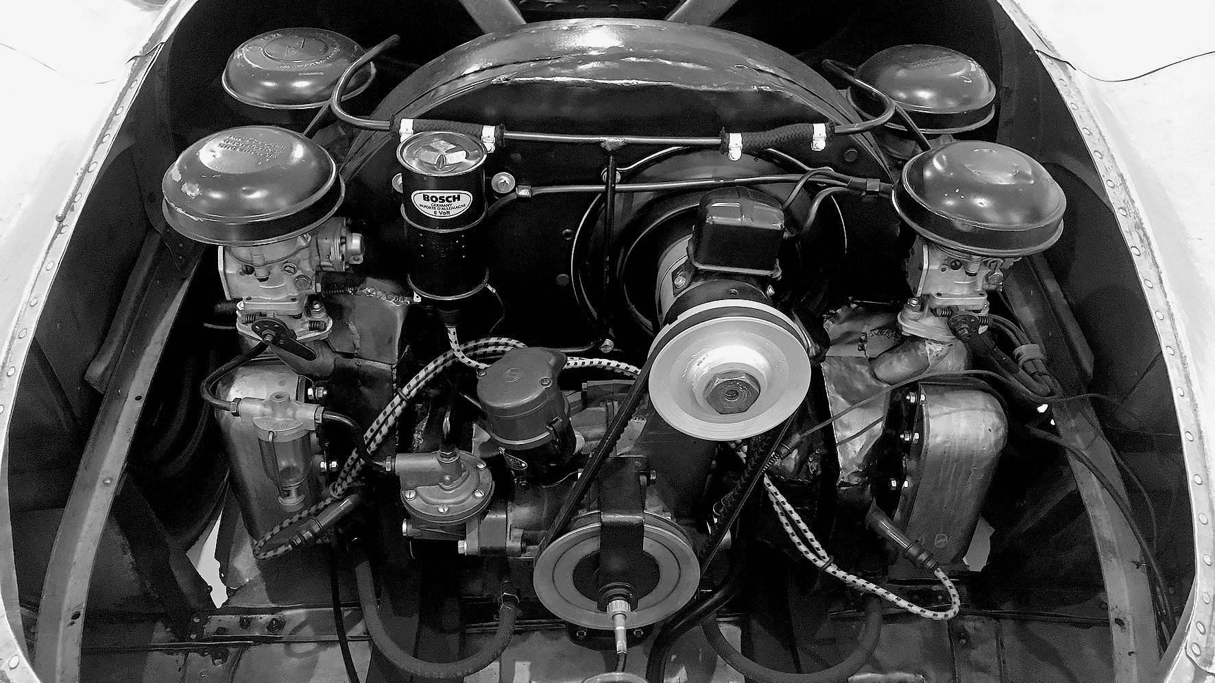 El Tipo 367 fue el primer motor deportivo de Porsche