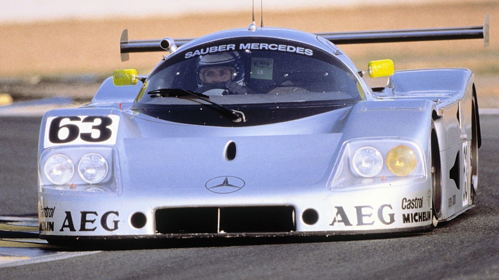 Conducir un Sauber-Mercedes C9 no es algo que se haga todos los días