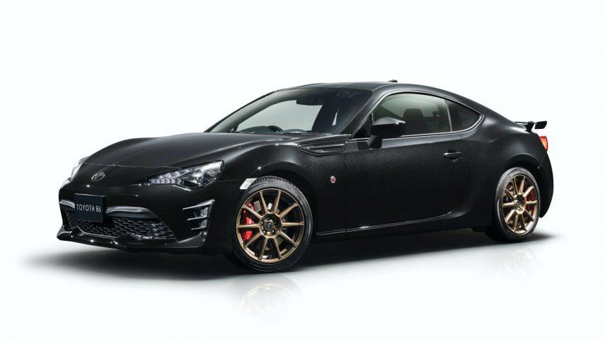 Toyota GT 86 Black Limited: rindiendo homenaje a un icono