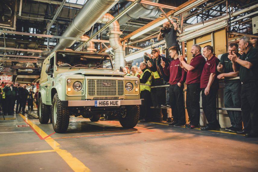 El Land Rover Defender se dejó de fabricar hoy