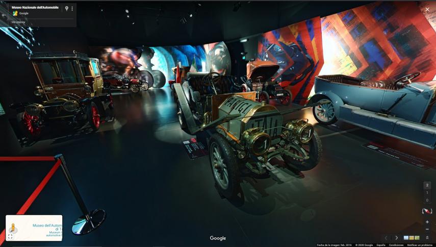 Hoy visitamos virtualmente el Museo Nazionale dell'Automobile Torino