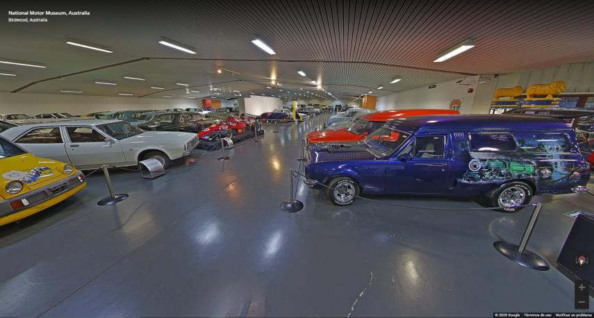Hoy visitamos el National Motor Museum de Australia
