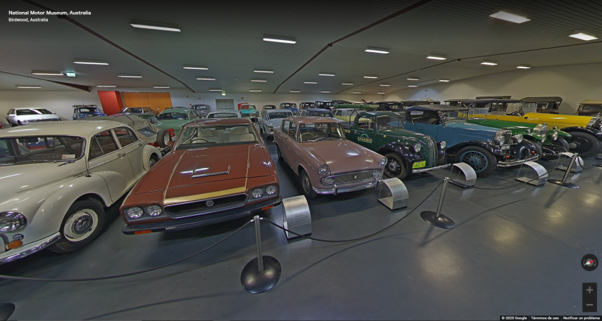 visita virtual national motor museum australia (4)