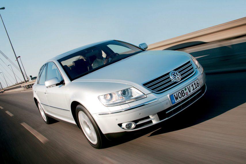 Coche del día: Volkswagen Phaeton V10 TDI