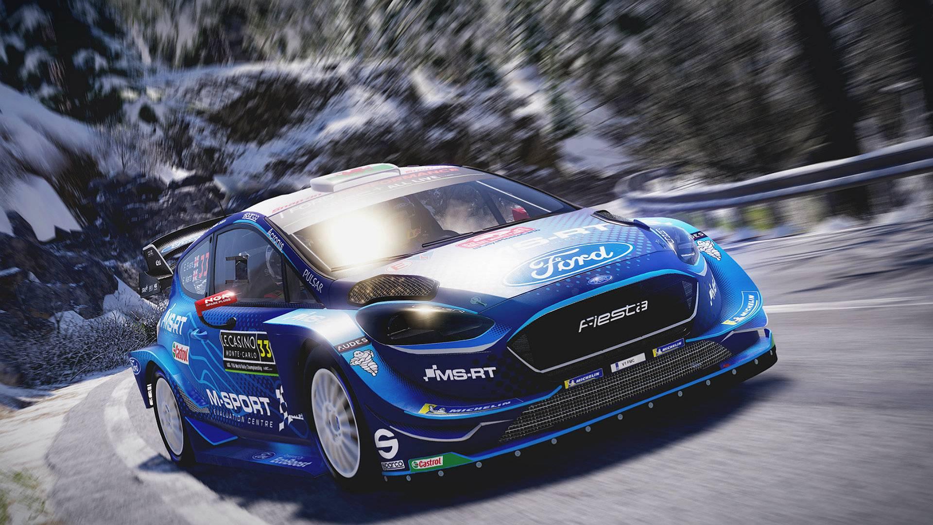 WRC 8 Ford Fiesta