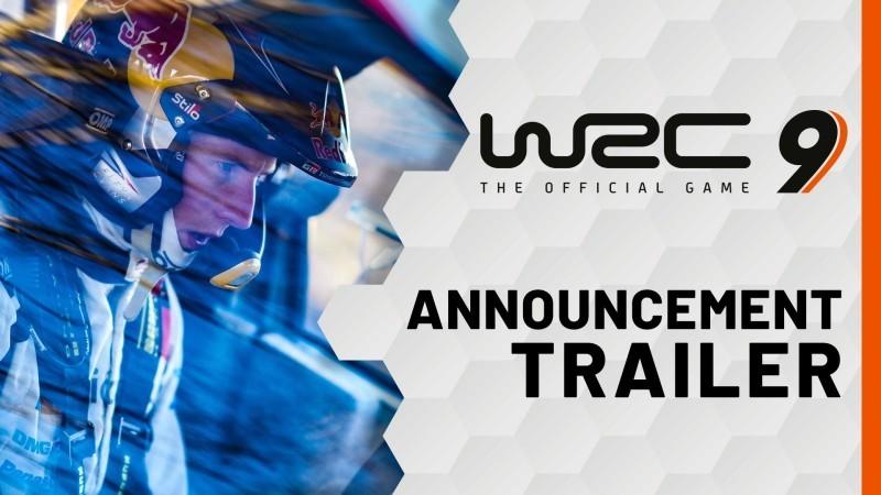 WRC 9 trailer