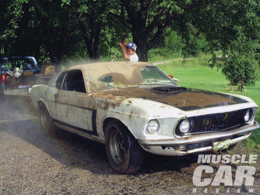 Buscaba el prototipo de un Ford Mustang Boss 302 de 1969… Y lo tenía en casa