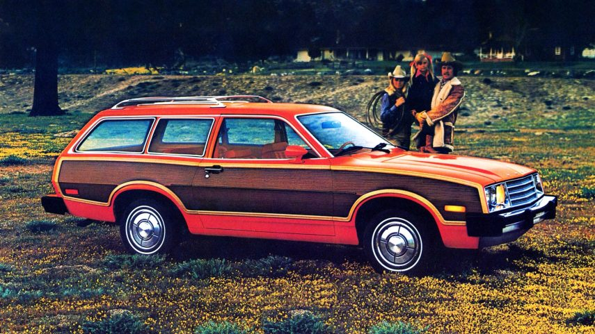 1980 Ford Pinto Squire Wagon