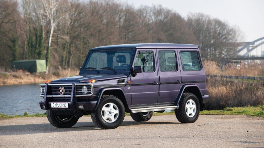 Esto no es un Mercedes Clase G, es un Puch 500 GE