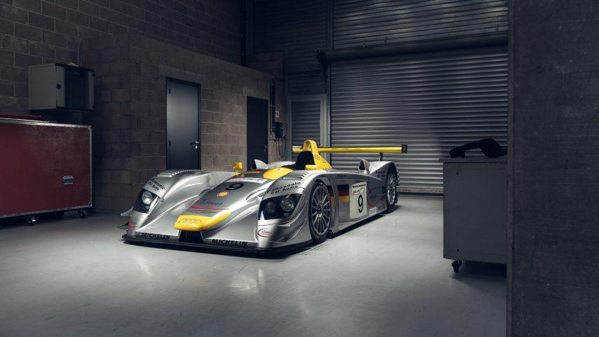 En venta el Audi R8 LMP900 que compitió en las 24 Horas de Le Mans del 2000