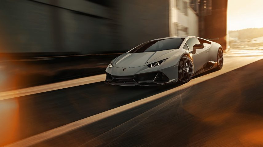 Novitec mejora sensiblemente el Lamborghini Huracán EVO