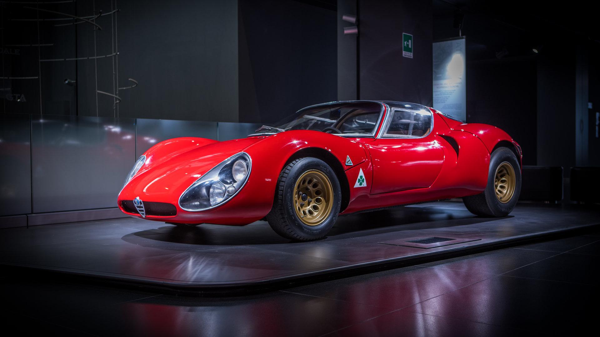 Coche del día: Alfa Romeo 33 Stradale