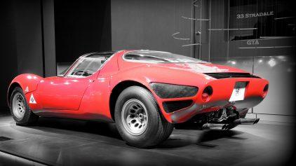 Alfa Romeo 33 Stradale museo 4