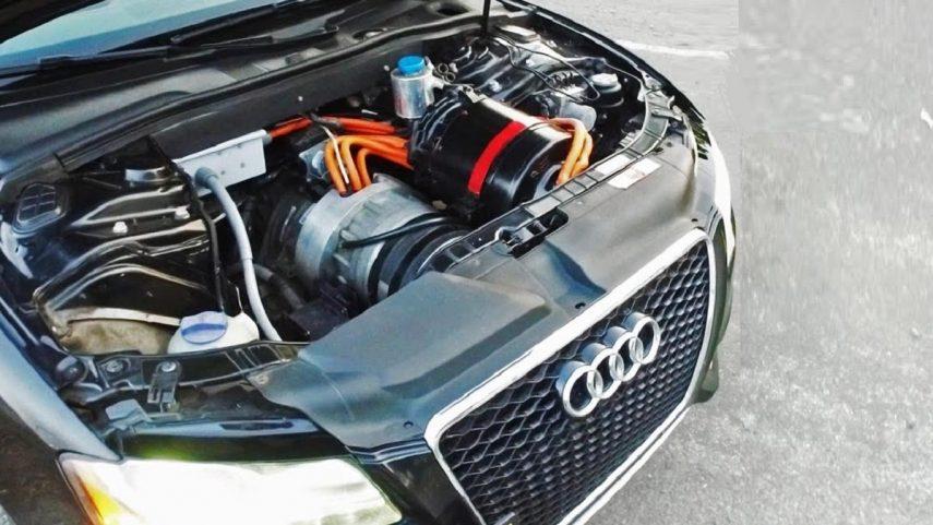 El Audi S5 que quería el corazón eléctrico de un Tesla Model S