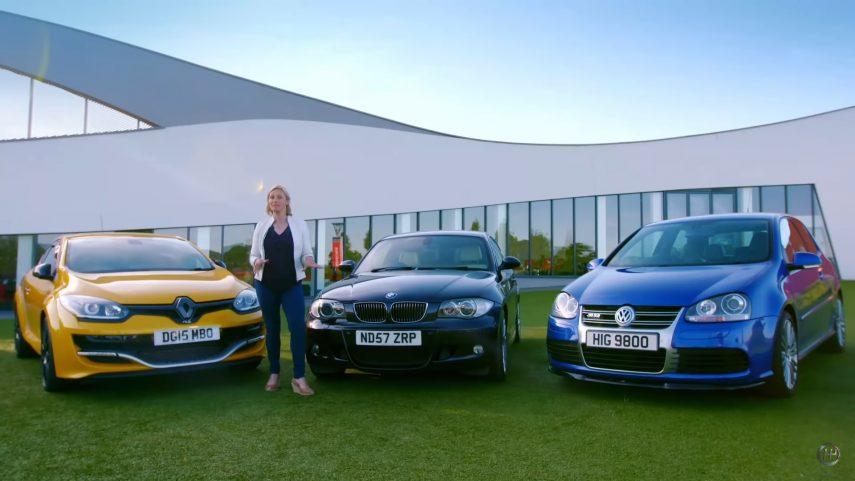 ¿BMW 130i, Renault Mégane RS o Volkswagen Golf R32?