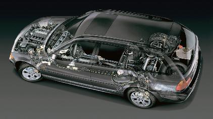 BMW 330ix touring E46 1