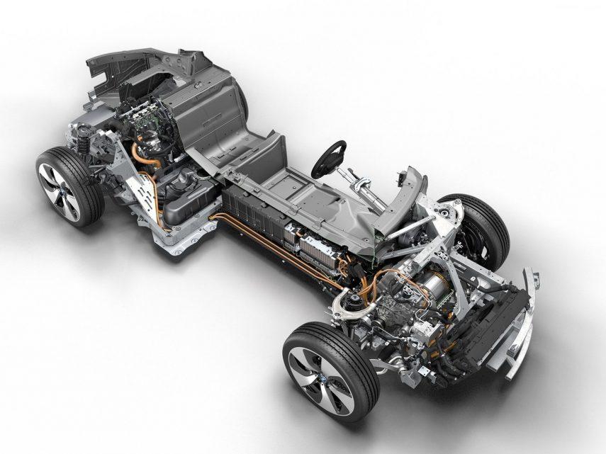 BMW i8 esquema