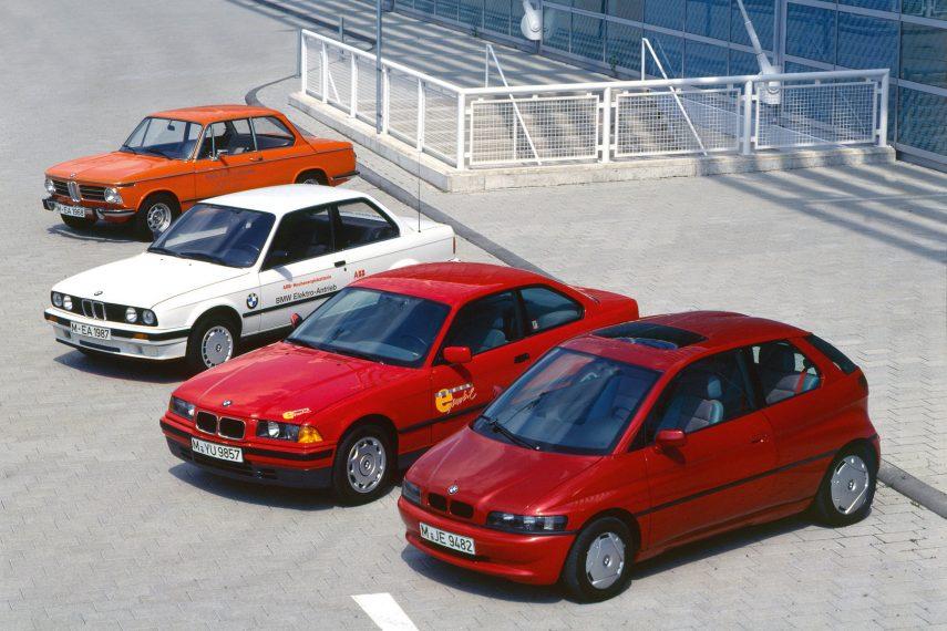 Gama prototipos BMW electricos 3