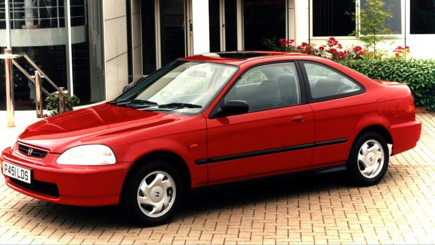 Coche del día: Honda Civic Coupe (EJ6)
