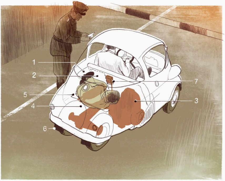 Huida BMW Isetta 3