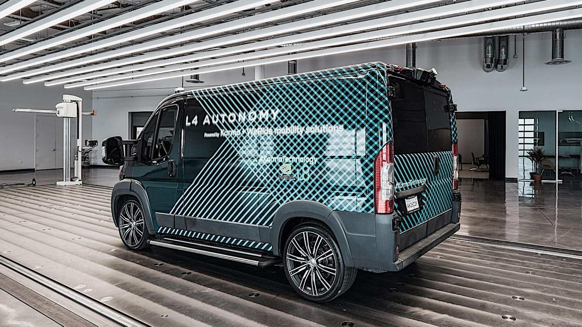 Karma Automotive E Flex Van Prototipo 3