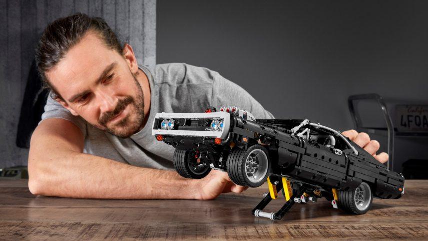 """El Dodge Charger de """"Fast & Furious"""" se pasa al mundo LEGO"""