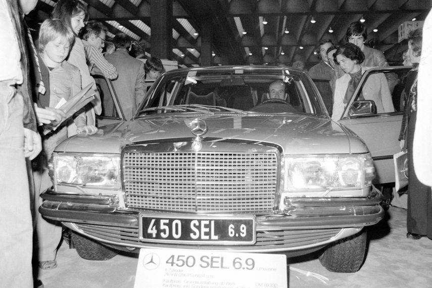 Coche del día: Mercedes-Benz 450 SEL 6.9 (W116)