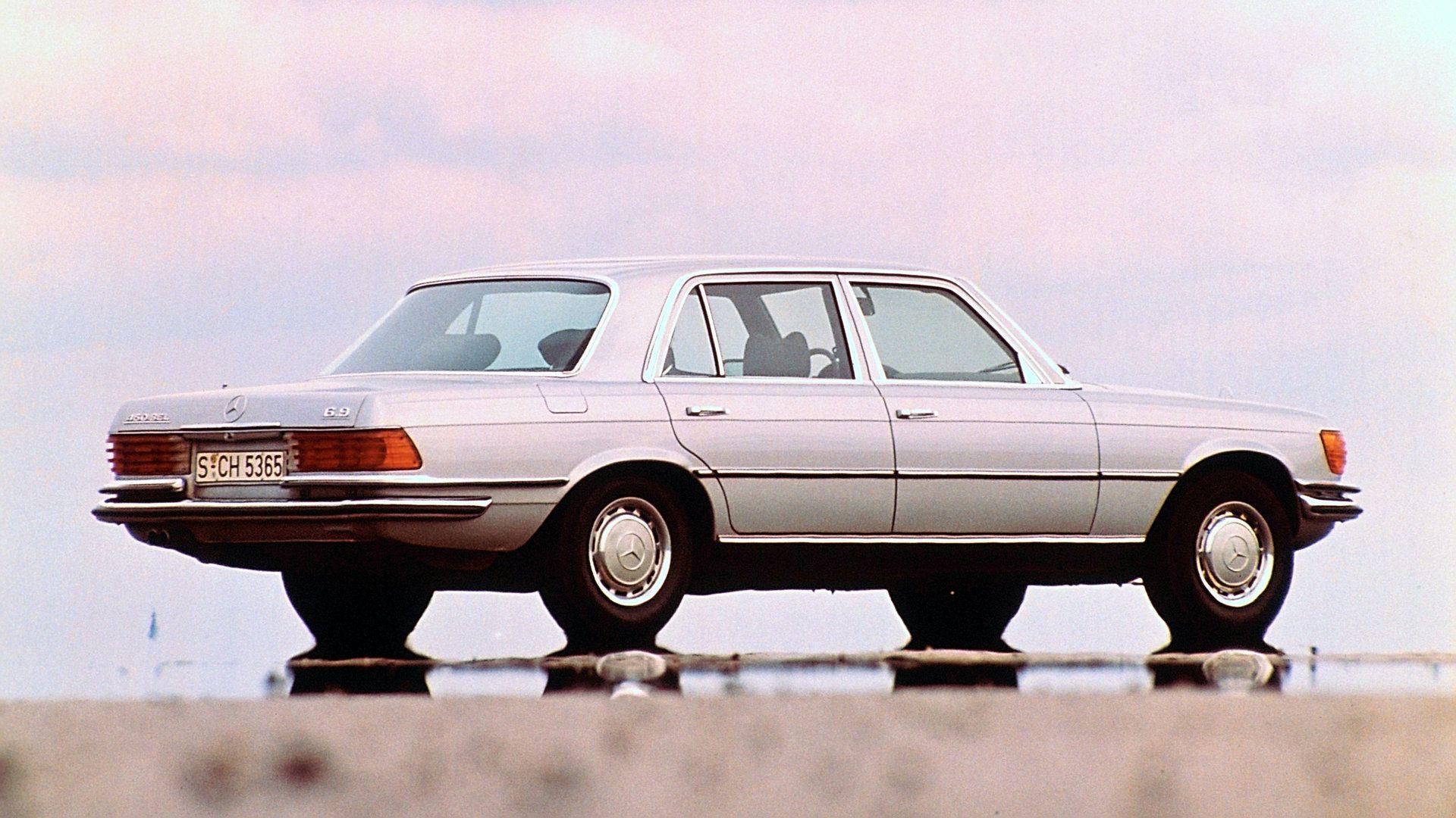 Mercedes Benz 450 SEL 69 W116 7