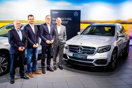 Mercedes Benz GLC F CELL