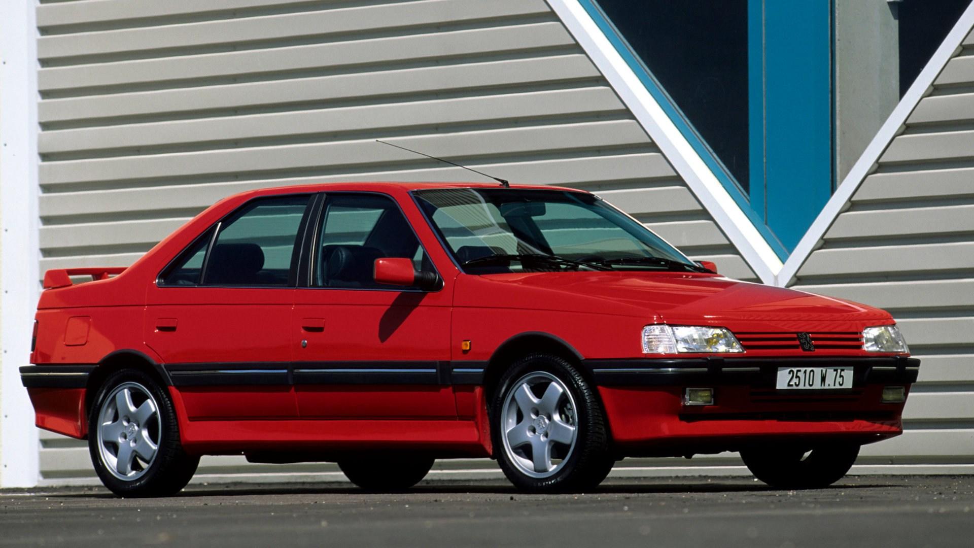 Coche del día: Peugeot 405 T16
