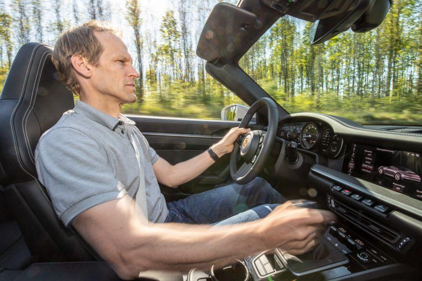 Porsche 911 992 Transmision manual