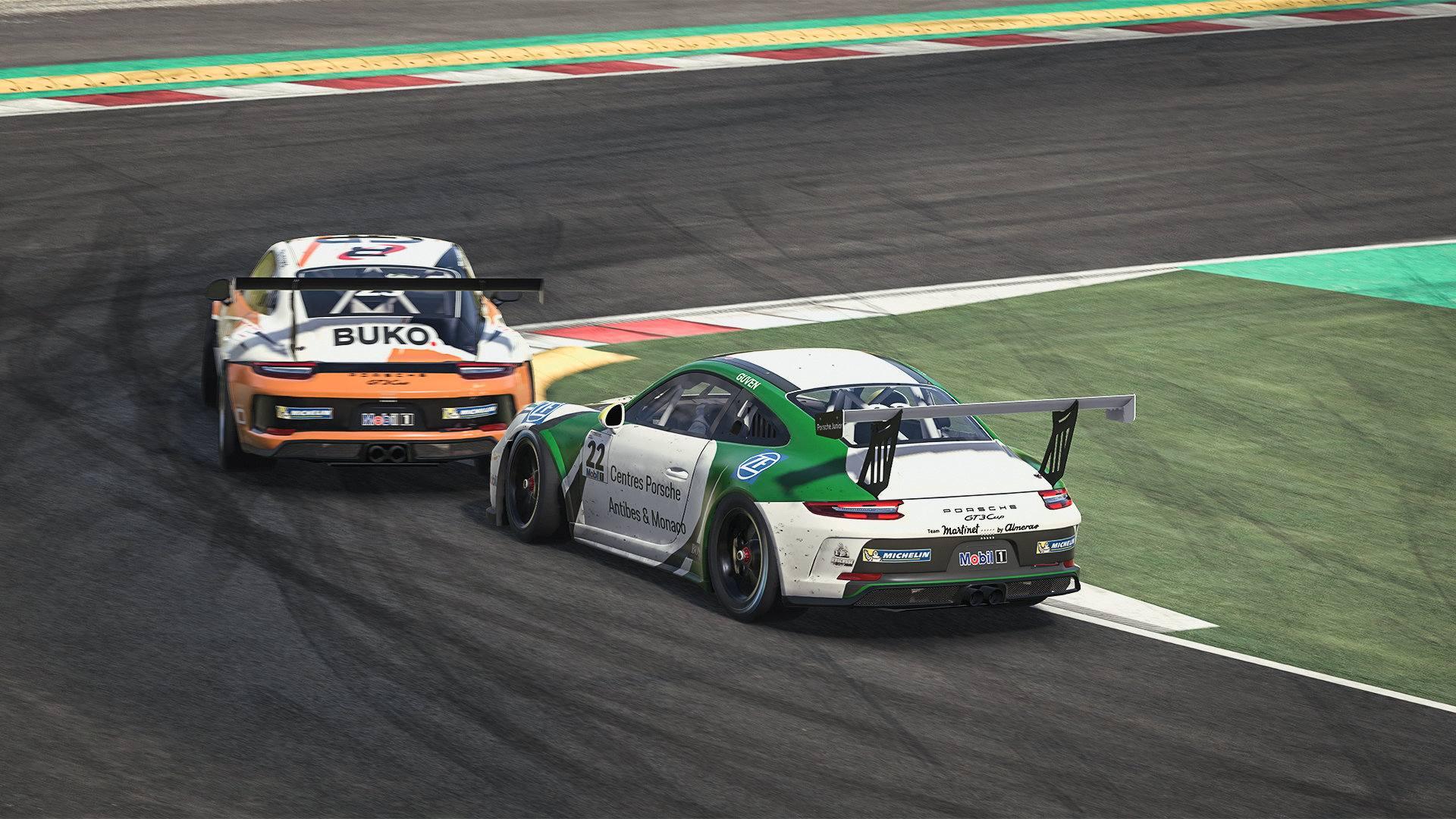 Ten Voorde y Güven se reparten las primeras victorias de la Porsche Supercup 2020