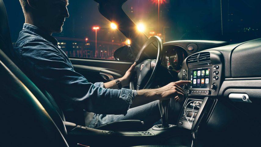 Porsche actualiza sus clásicos con un nuevo sistema de infoentretenimiento
