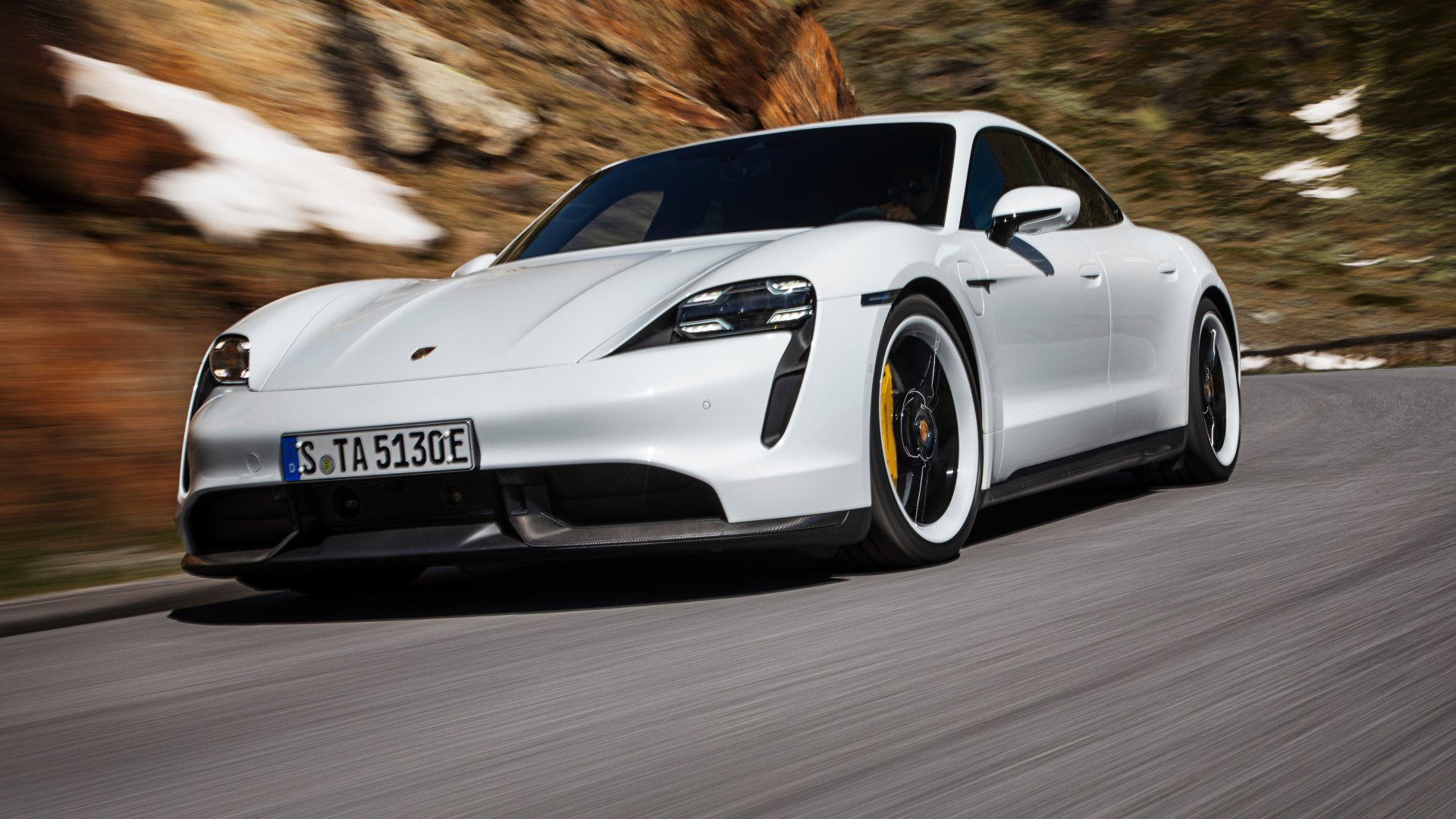 Así es el sistema de propulsión del Porsche Taycan